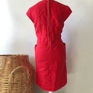 5b8d8b03cb6 kate spade Dresses - Kate Spade Teri Linen Shift Dress Red